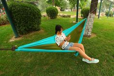 I bought a new #hammock last week for camping,traveling and hiking. It has high quality with Bright color. I really like this hammock.http://bit.ly/1OvlrAb