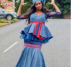 Shweshwe dresses styles 2018