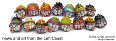 Patty Lakinsmith offers insights and inspiration for lampwork artists.