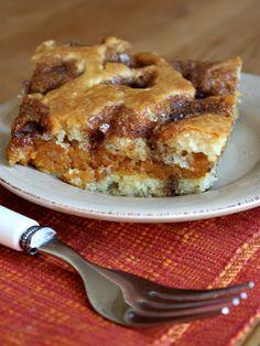 Pumpkin Coffee Cake Recipe | Recipe Girl