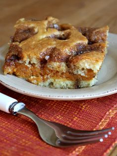 Recipe Girl:  Pumpkin Coffee Cake