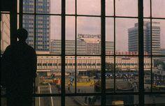 LEAVING HOME, BERLIN GDR 1989