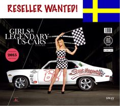 "RESELLER WANTED! • You are based in Sweden and well-connected to the local US-Car scene? • You run a topic related webshop or a retail store in Sweden? • You are interested to make some extra-sales by offering our ""Girls & legendary US-Cars"" calendar? Then please contact us, we are looking forward to cooperate with you: info(at)sway-books.de  www.sway-books.de // www.carloskella.de"