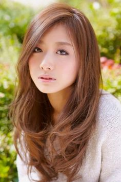 Asian Boy Haircuts, Long Layers With Bangs, Hair To Go, Prity Girl, Poses References, Asian Hair, Hair Designs, Dark Hair, Beauty Women