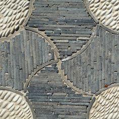 chinese garden paving, Portland, OR. Backyard Garden Landscape, Garden Paving, Mosaic Garden, Garden Landscape Design, Garden Paths, Garden Art, Garden Landscaping, Landscape Designs, Asian Garden