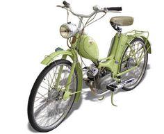 SIMSON SR1 Technische Angaben: Motor: Rh 50 Hubraum: 47,6 ccm Max.Leistung: 1,1 kW bei 5000 U/min Getriebe / Antrieb: 2 Gang / Kette Bremsen: Trommelbremse Simplex / Ø 90 mm Leergewicht: 51 kg zul. Gesamtgewicht: 140 kg Tankinhalt / Reserve: 4,5 Liter / 0,5 Liter Farben: diaphanblau, hechtblau, lindgrün, maron, beige, Okivbraun Vmax: ca. 45 km/h //MZA Meyer-Zweiradtechnik-Ahnatal Beast From The East, Old Motorcycles, 50cc, Everyday Objects, Design Thinking, Luxury Cars, Bike, Vehicles, Motorbikes