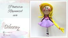 Ponteira Rapunzel - EVA