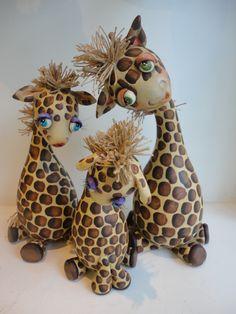 Gourd giraffe.