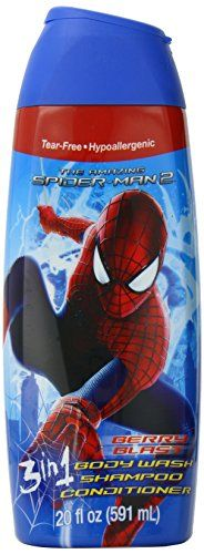 Make bath time fun with this #Spider Man 3 in 1 #Body Wash. Offered here in a fruity fragrance that is sure to make your tike look forward to bath and shower time...