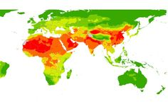 The World Health Organization's pollution map....