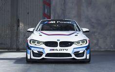 Indir duvar kağıdı 4k, BMW M4 GT4, sportcars, 2017 arabalar, süper arabalar, BMW