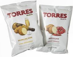 Spanish potato chips push flavors into new savory directions: ham, truffle and sparkling wine included.