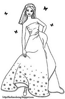 cool barbie coloring pages  Barbie Movies Photo 19453643