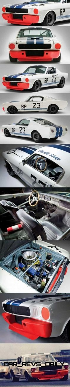 Classic Car News Pics And Videos From Around The World 65 Mustang Fastback, 1965 Mustang, Mustang Cobra, Shelby Mustang, Classic Car Garage, Shelby Gt350r, Sports Car Racing, Sport Cars, Shelby Car