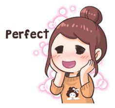 You can show your daily fangirling activities by using these stickers~! Cute Love Pictures, Cute Cartoon Pictures, Cartoon Pics, Cute Images, Pop Stickers, Anime Stickers, Kawaii Stickers, Love Is Cartoon, Cute Love Cartoons
