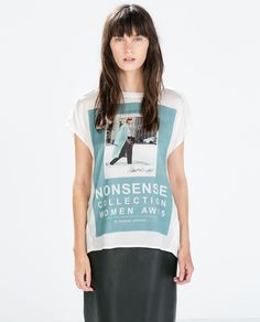 NONSENSE COLLECTION T-SHIRT from Zara