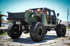 Jeep Wrangler Truck Conversion - Bruiser Conversions