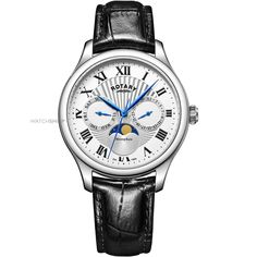 Mens Rotary Moonphase Watch GS05065/01