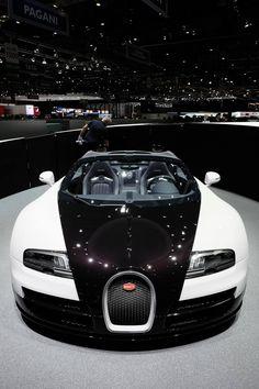 Tuxedo paint: Bugatti Veyron