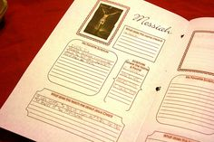 Names of Christ study booklet for children from chocolateonmycranium.blogspot.com