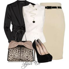 Stylish Eve Outfits 2013: How to Look Great and Professional on the Job