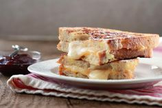 A Meatless Monte Cristo sandwich! Because sometimes you need a break right? Get the cheesy, melty recipe here by simply clicking on the photo.  ENJOY!