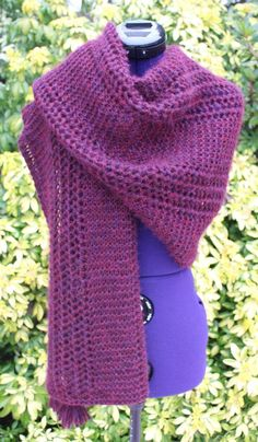 Knitted Shawls, Bordeaux, Scarves, Creations, Artisans, Boutique, Cowls, Knitting, Fashion