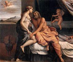 Júpiter e Juno (mitologia romana), de Agostino Carracci.