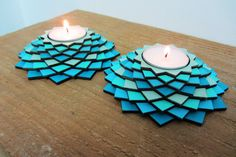 Laser cut wood Table center piece candle holders/ Shabat candle holders on Etsy, $32.82 AUD