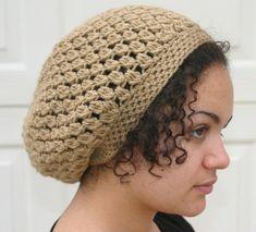 crochet+slouch+hat+pattern | PATTERN - Kelechi Crochet Slouchy Beanie PATTERN - Slouchy hat pattern ...