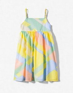 <3 bright colorful dress