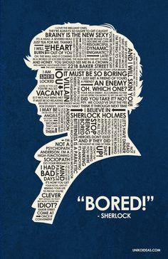 (Who-adjacent) Sherlock quotes