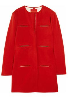 "<p> Lanvin Brass-Trimmed Wool-Blend Coat, $1,784.71; <a href=""http://www.shopstyle.com/action/apiVisitRetailer?id=372276792"