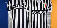 La Juventus presenta una colección de camisetas retro