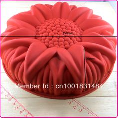 food grade silicone new big sunflower silicacone cake tools / mold big  $6.00