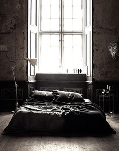 perfect masculine bedroom