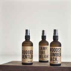 Woodsy Lumberjack & Rugged Gentleman Body Scent via UP KNÖRTH