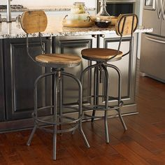 1000 Images About Industrial Bar Stools On Pinterest
