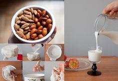 Nada más rico que las leches vegetales, perfectas para tomarlas a diario con nuestro desayuno o para cocinar postres. Cuando la usamos para cocinar simplemente reemplazamos la leche de vaca que tenga nuestra receta por leche vegetal.
