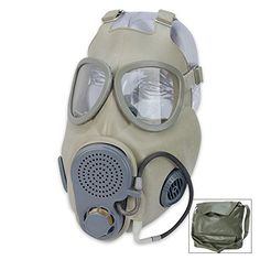New survival gear is up! http://musthavesurvivalgear.com/products/czech-m10m-gas-mask-with-filter-drinking-tube?utm_campaign=social_autopilot&utm_source=pin&utm_medium=pin