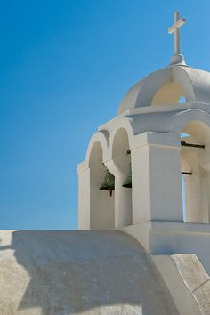 Greece:  Santorini's Rooftops | photo by Jacinthe Brault