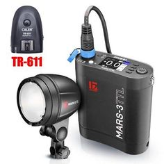 Jinbei MARS-3 300W TTL Battery Pack Portable Strobe Flash with TR-611 for Canon
