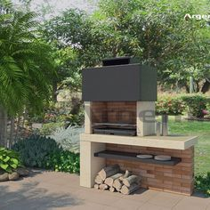 How Does Pergola Work Terrace Design, Patio Design, Garden Design, Outdoor Barbeque, Outdoor Fire, Outdoor Decor, Barbeque Design, Parrilla Exterior, Custom Bbq Pits