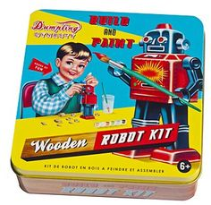 Build and Paint a Robot Kit