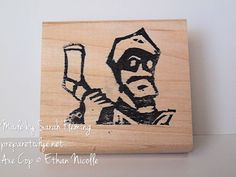 Axe Cop stamp by Sarah Fleming - Stampin' Up! Undefined