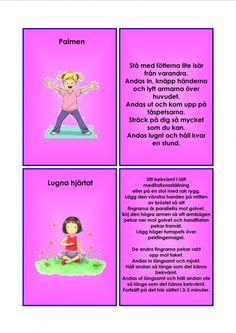 Yoga For Kids, Exercise For Kids, Yoga Meditation, Massage, Sport, Deporte, Sports, Massage Therapy