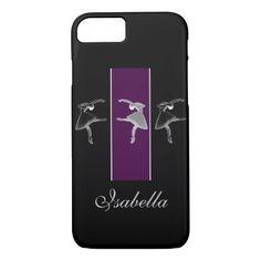 Silhouette Trio Ballet iPhone 7 Case