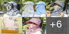 SOMBRERO TAPA BOCAS Y CABELLOS. Es mejor protegerse la cara con un Tapa cara cuando sopla el viento y el frío lo muerde. Este es un patrón hecho en pasamon Tapas, Blouse Designs, Crochet Hats, Cool Stuff, Sewing, How To Make, Lima, Videos, Bag