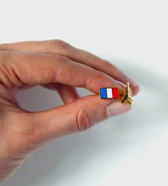 French Flag Eiffel Towel