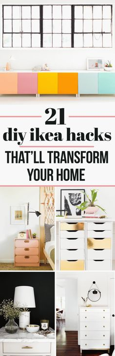 These gorgeous Ikea hacks will bring you one step closer to the home of your dreams!